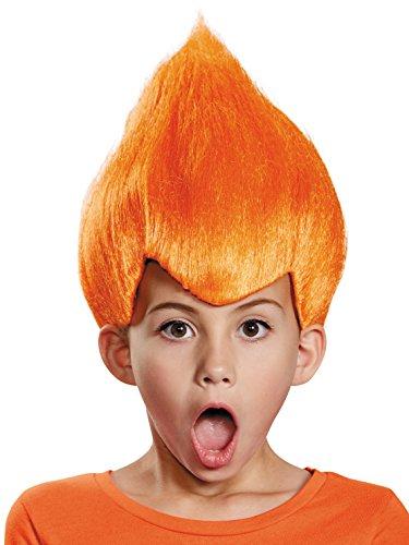 Disguise Orange Wacky Child Wig, One Size Child,