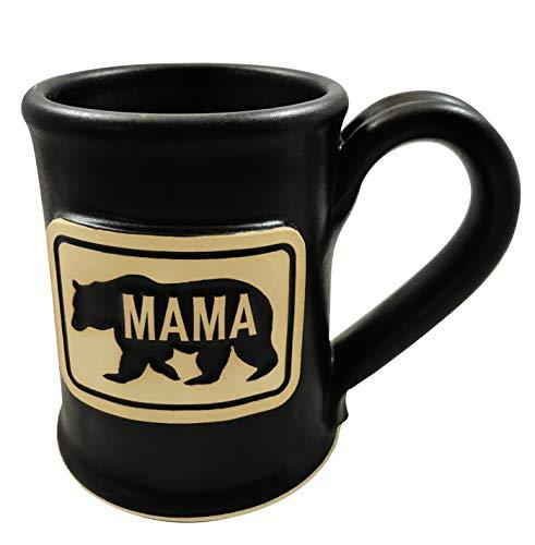 - Mama Bear Coffee Mug – Mom Coffee Mug - Best Birthday Gift for Mom – Great Gift For New Mom – Great Gift For New Grandmother – Black 14oz Handmade In The USA by Uncommon Clay