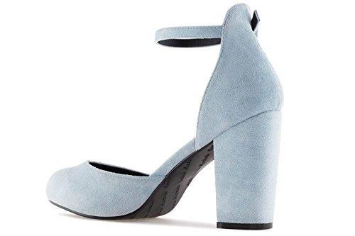 Celeste Pour Bleu Escarpins Femme Machado Ante Andres W41x8Cqppw