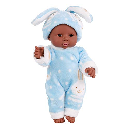 Baby Dolls Clearance , 30CM Emulated Blink Doll Soft Children Reborn Baby Doll Toys Boy Girl Gift (D)]()
