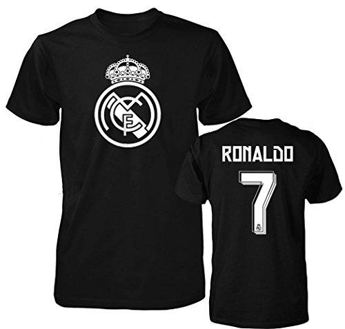 Smart Zone Fc Real Madrid Shirt Cristiano Ronaldo Mens T  Shirt