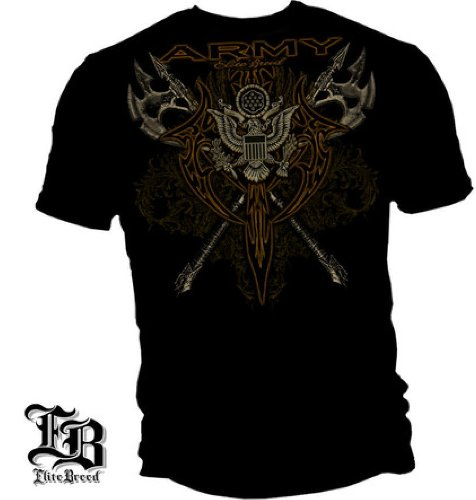 US Army Tribal Axis - Elite Breed - Military T-Shirt