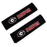 Fremont Die Georgia Bulldogs Velour Seat Belt Pads