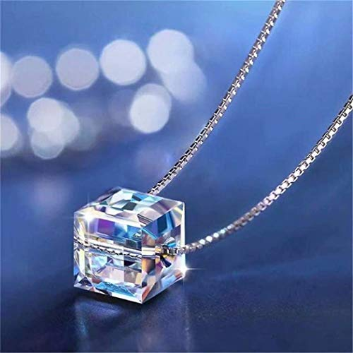 REGOU Cubic Zirconia Crystals Jewelry, Elements Crystals Pendant ()