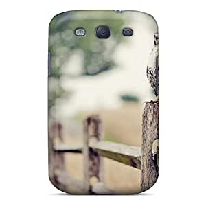 Tough Galaxy RZN13897jWjR Case Cover/ Case For Galaxy S3(eagle On The Fence)