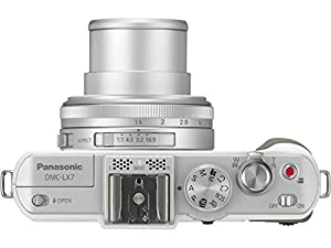 Panasonic LUMIX DMC-LX7 10.1 MP Digital Camera with 7.5x Intelligent zoom and 3.0-inch LCD