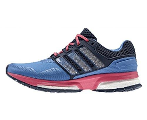 adidas - Chaussure Response Boost 2.0 Techfit - Bleu - 36 2/3