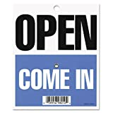 """COSCO 098010 Will Return Later Sign, 5"""" x 6"""", Blue"""