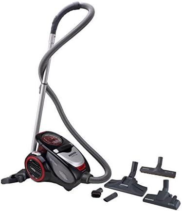 Hoover Xarion Pro XP15 Aspirador sin bolsa, Multiciclónico, Cepillo alfombras, Parquet, Suelos duros, Filtros Hepa, 800 W, 1.5 litros, 75 Decibelios, Rojo: Hoover: Amazon.es: Hogar