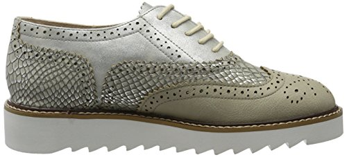La Strada 906959, Zapatos De Cordones Derby para Mujer Gris