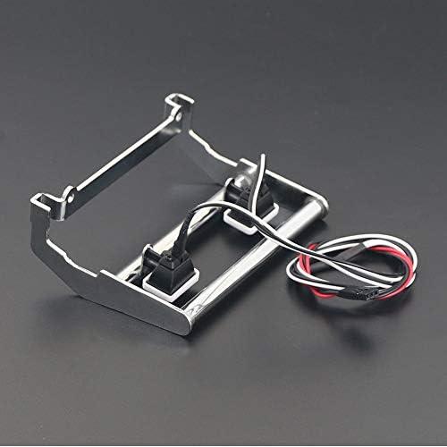 ACAMPTAR Metall Front STO? Stange mit Led Licht f/ür 1//10 Rc Crawler Trx4 K5 Blazer Silber