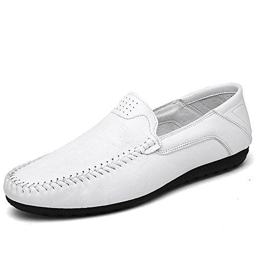 zmlsc Robe Chaussures Hommes Occasionnels Ronde Doux Point Point Sangle Saison Antidérapante Randonnée Plage Cachemire Couleur Sports White cb3Dk2H
