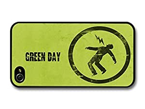 AMAF ? Accessories Green Day Punk Rock Band Green Logo Lighting case for iPhone 4 4S