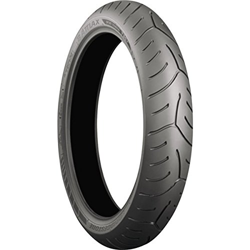 Bridgestone Battlax Sport Touring T30 Tire - Front - 110/ 80ZR-19 (GT spec) , Position: Front, Rim Size: 19, Tire Application: Touring, Tire Size: 110/80-19, Tire Type: Street, Load Rating: 59, Speed Rating: (W), Tire Construction: Radial 001525