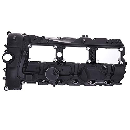 (ECCPP Valve Cover with Valve Cover Gasket for 2011-2014 BMW 135i 335i 535i X1 X3 X5 X6 xDrive35i N55 Compatible fit for Engine Valve Covers Kit)