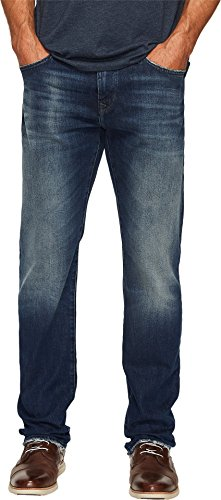 Mavi Jeans Men's Zach Regular Rise Straight Leg in Light Shaded Authentic Light Shaded Authentic Jeans - Mavis 1 Light