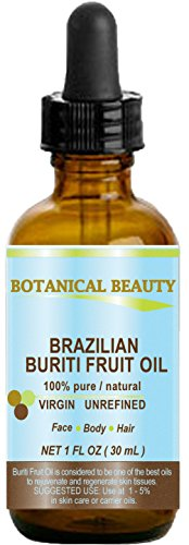 Brazilian BURITI FRUIT OIL 100% Pure / Natural / Cold Presse