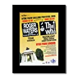 WHO - Hyde Park 2006 Matted Mini Poster - 28.5x21cm