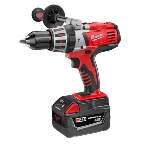 Milwaukee 0726-22 M28 28-Volt 1/2-Inch Hammer Drill Kit -