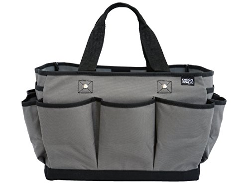 Deluxe Gardening Tote Bag (Gray)