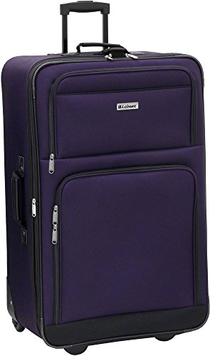 "Leisure Luggage 21"" Expedition Expandable Upright Luggage One Size Purple"