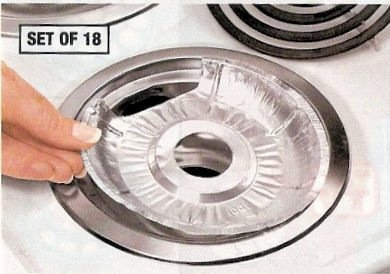 aluminum stove burner covers - 7