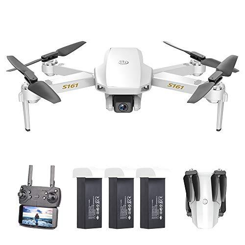 GoolRC CSJ S161 Mini Drone Pro con Cámara 4K Posicionamiento de Flujo óptico Cámara Dual Altitud Hold Gesto Fotos Video…