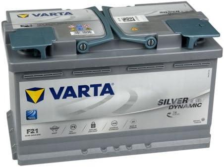 Varta F21 - Batteria per auto da 80 Ah e 12V: Amazon.it: Auto e Moto