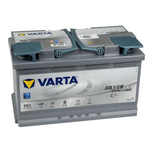 Varta F21 Car Battery, 80Ah, 12V: