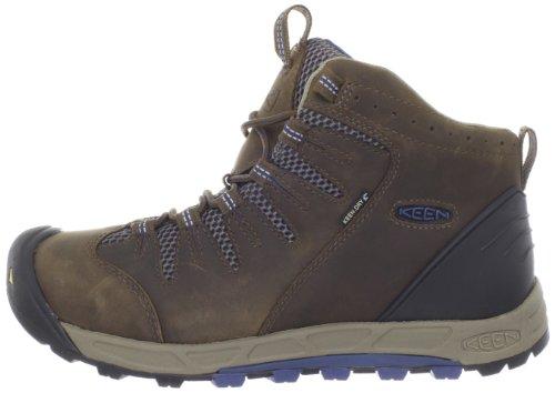 Keen Bryce Mid WP - Zapatillas de Senderismo de Cuero Para Hombre Marrón Braun (DarkEarth/Rust), Color Marrón, Talla 41 marrón oscuro