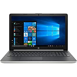 HP 15.6″ HD Touch-Screen Laptop Notebook Computer, AMD Quad Core Ryzen 5 3500U up to 3.7GHz, 8GB DDR4, 128GB SSD PCI-e, AMD Radeon Vega 8, USB 3.0, Webcam, DVD-RW, HDMI, Windows 10, Silver
