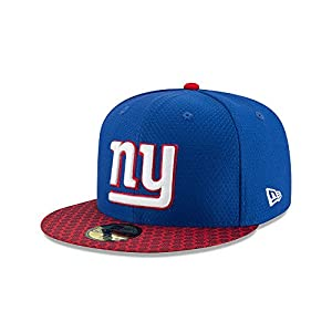 3fe0df9ca New Era New York Giants NFL 17 Sideline 59fifty 5950 Fitted Cap Limited  Edition