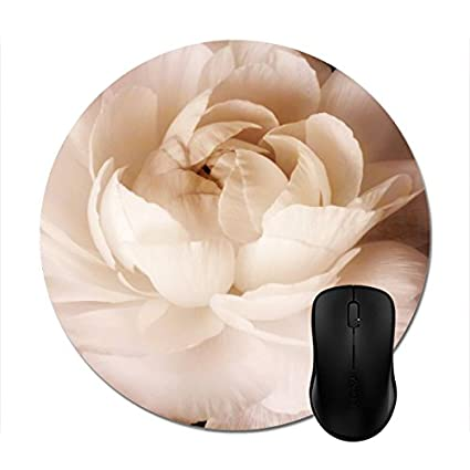 Amazon starings mouse pads black and white ranunculus flower starings mouse pads black and white ranunculus flower sepia floral mouse mat mightylinksfo