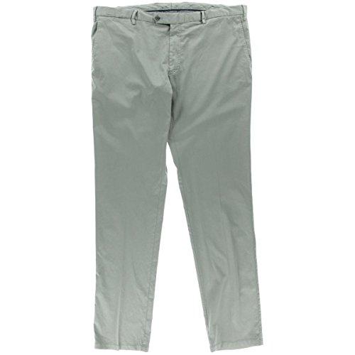 canali-mens-silk-blend-flat-front-dress-pants-gray-36