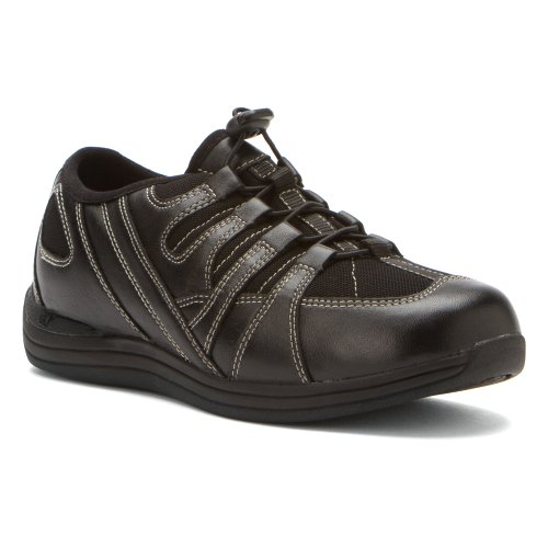 Drew Shoe Mujeres Daisy Sneakers Black Nappa / Nylon