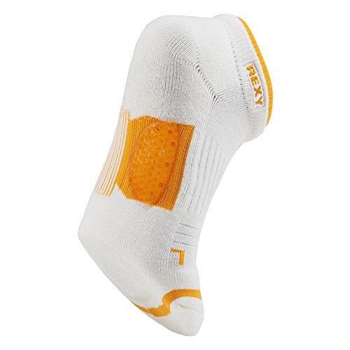 Rexy Functional Balance Women's Golf Low Cut Socks Arrow Mesh Yellow GF6L-11 by Rexy (Image #5)