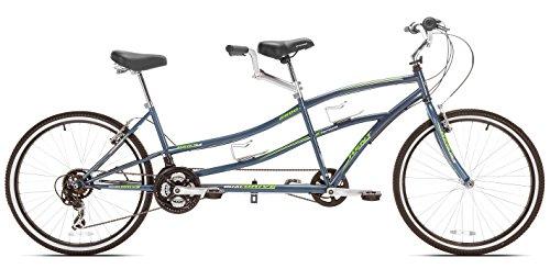 Kent Dual Drive Tandem Comfort Bike, 26-Inch, Blue Best Deal