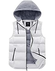 ZSHOW Men's Packable Quilted Puffer Vest with Hood
