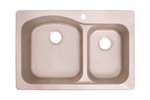 Granite Kitchen Sink Champagne - Franke DIG62F91-CHA Gravity 33