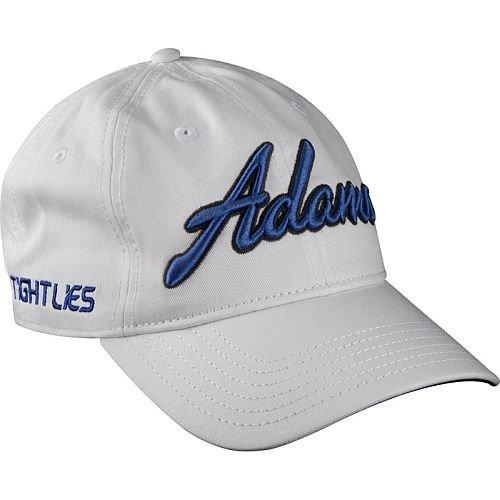 Adams Golf Unstructured Tight Lies Hat (White, One Size) Cap