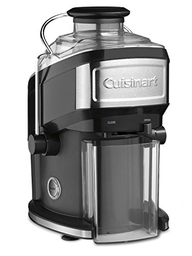 Cuisinart Centrifugal Extractor Black Stainless JE 1000PC
