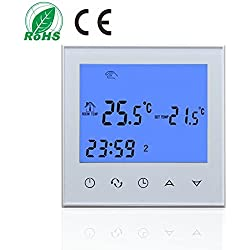 200-240V Digital LCD Display Room Temperature Controller Thermostat NTC Sensor