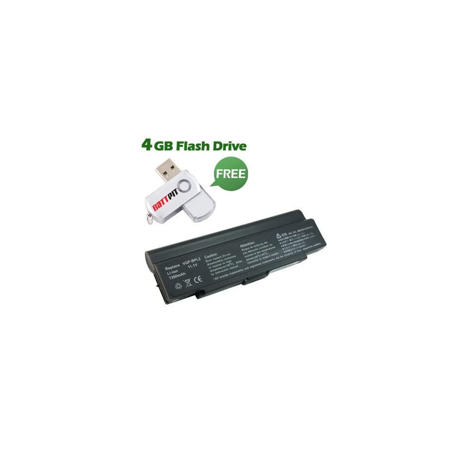 Laptop / Notebook Battery Replacement for Sony VAIO VGN FS742W (6600