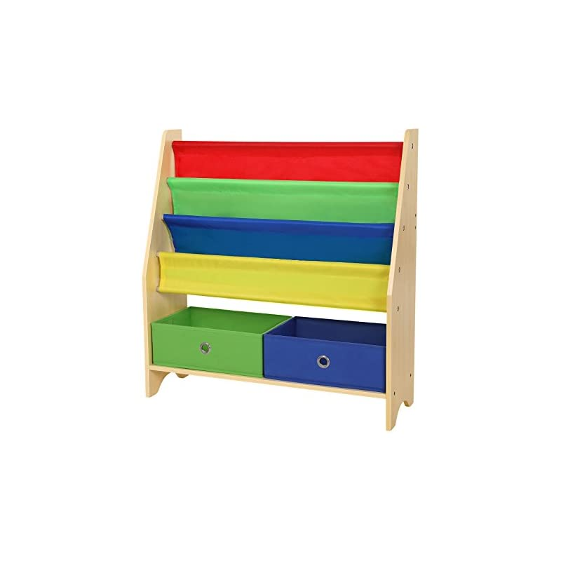 SONGMICS Children's Book Shelves with To