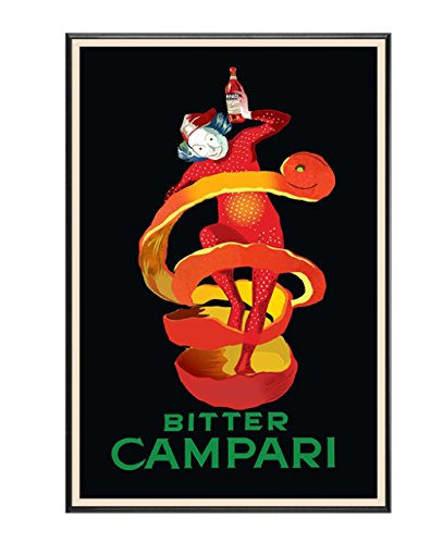 BaikalGallery Cartel Enmarcado Vintage Bitter Campari (V2531 ...