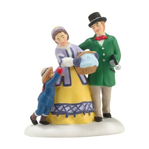 Department 56 Dickens' Village Sledding at the Fair Accessory, 2.64 inch