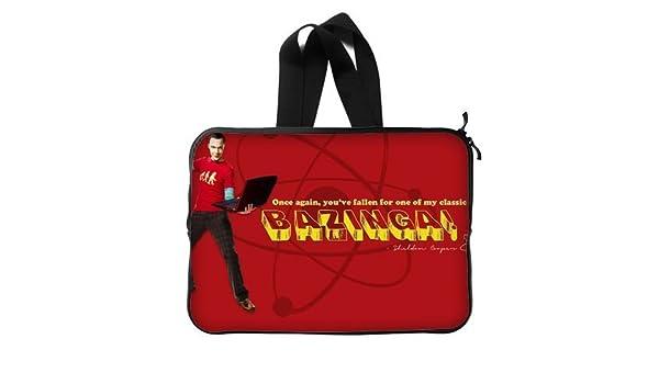 Sheldon Cooper The Big Bang Theory - Funda para portátil de 13/13,3 Pulgadas para MacBook Pro 13/Macbook Air 13 y funda para portátil de 13,3, ...