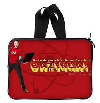 Sheldon Cooper The Big Bang Theory – Funda para portátil de 13/13,3