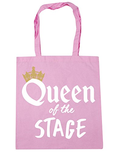 Stage 42cm of Bag Classic the Tote Shopping Gym Queen x38cm HippoWarehouse litres Pink 10 Beach tz5wHA