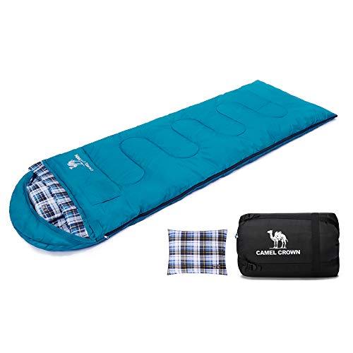 - CAMEL Camping Sleeping Bag Lightweight Portable Waterproof Women Men Sleeping Bag for Hiking Backpacking Traveling and Outdoor Activities